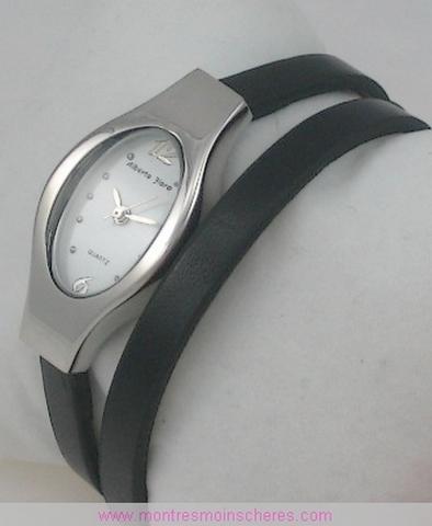 montre femme bracelet double tour watch uhr. Black Bedroom Furniture Sets. Home Design Ideas