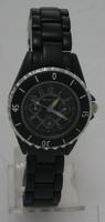 Montre femme bracelet acier noir diametre 2,8cm watch